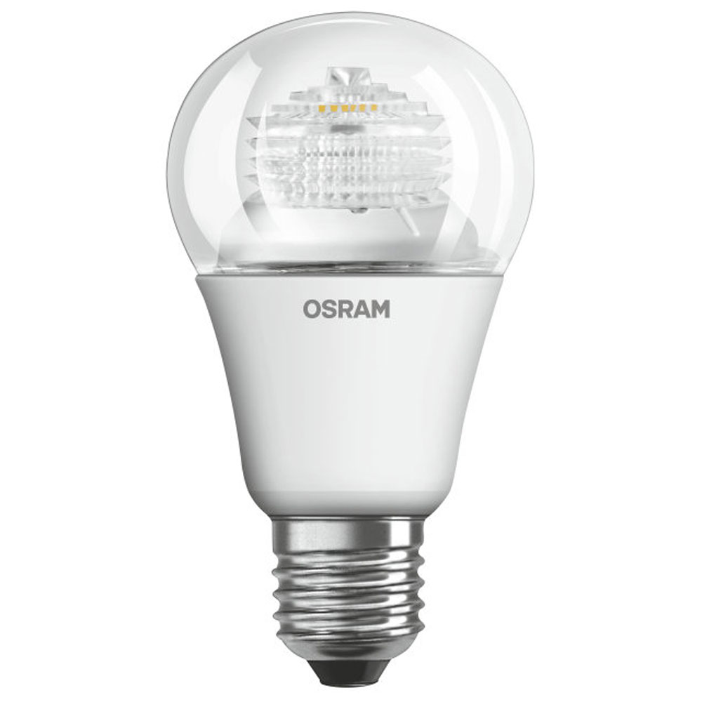 osram parathom classic a adv 6w very warm white clear e27 dimmable. Black Bedroom Furniture Sets. Home Design Ideas