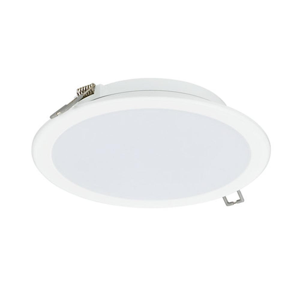 Philips LED Slim Downlight 11W Warm White IP20 150mm White