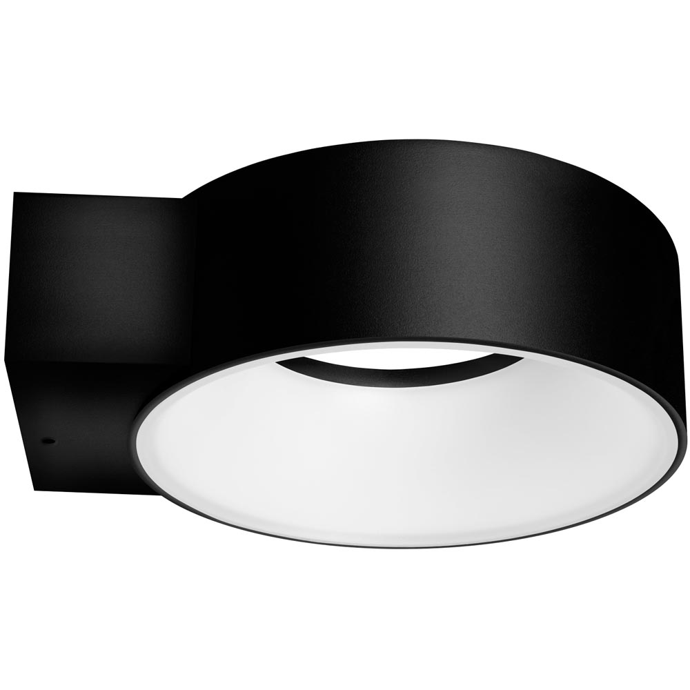 8w Led Exterior Polo Wall Light Cool White Ip65 120 Degrees