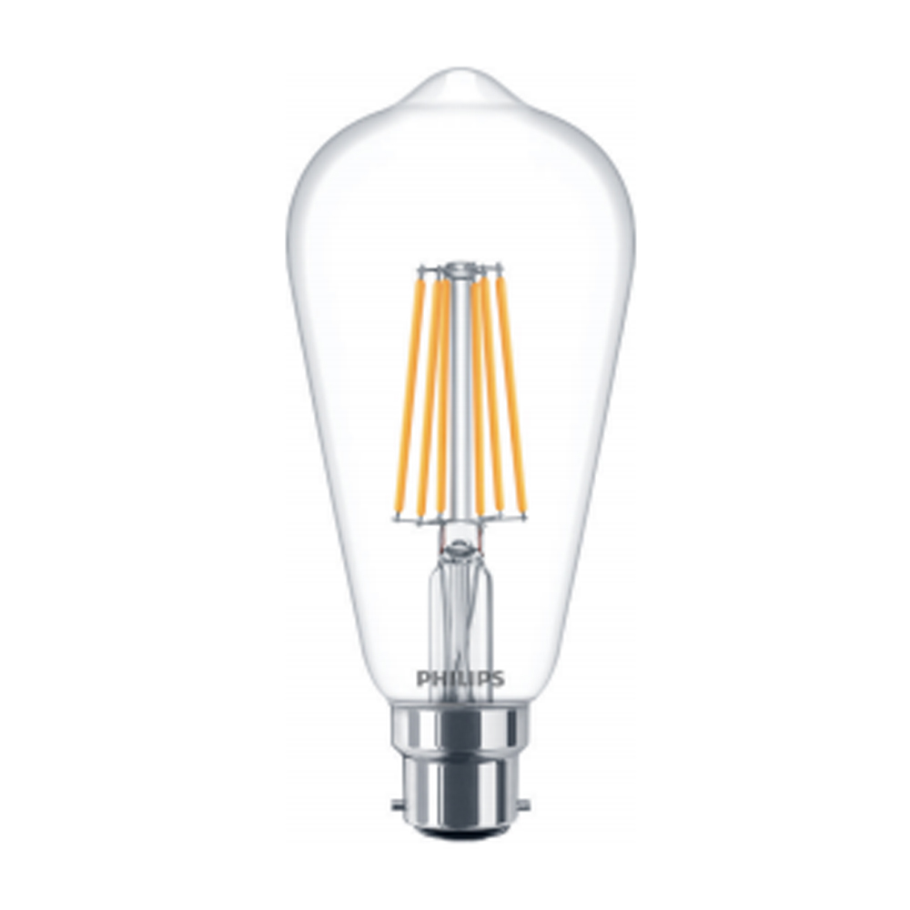 Philips LED Filament Squirrel Cage 7W 240V Very Warm White B22d Clear
