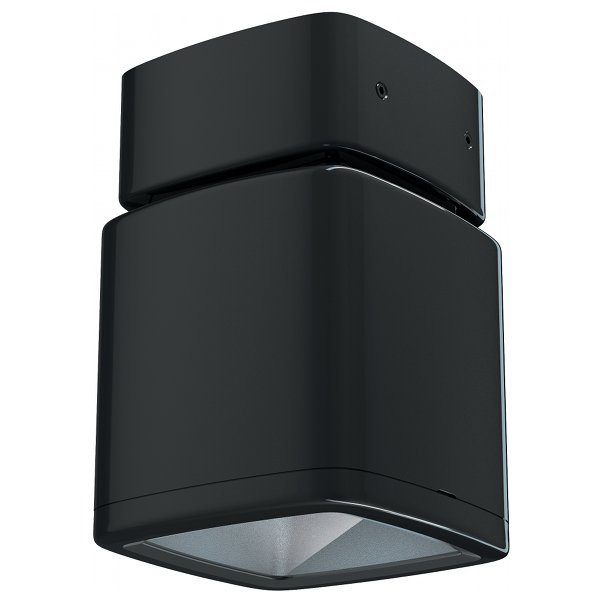 Lumiance InVerto Surface 16W/21W Cool White 40 Degrees IP65 in Gloss Black