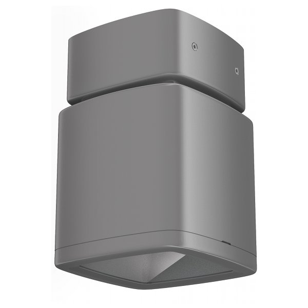 Lumiance InVerto Surface 16W/21W Warm White 40 Degrees IP65 in Matt Silver 1-10V Dimmable