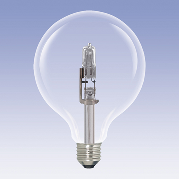 Halogen Eco-Halo 125mm Globe ES