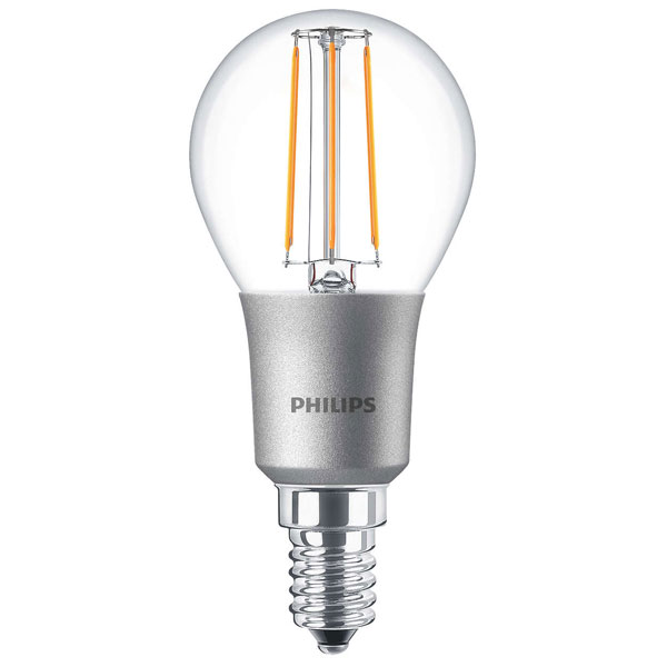 philips classic led p45 4 5w ses clear very warm white dimmable. Black Bedroom Furniture Sets. Home Design Ideas