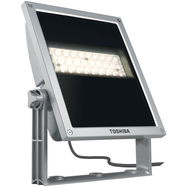 toshiba e core led floodlight 40w warm white spot 11 degrees. Black Bedroom Furniture Sets. Home Design Ideas